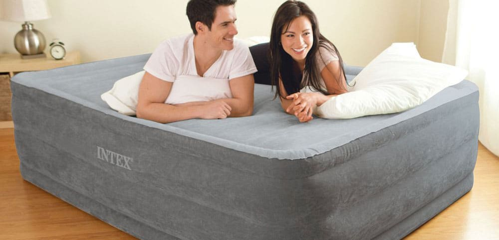 Airbed for permanent use