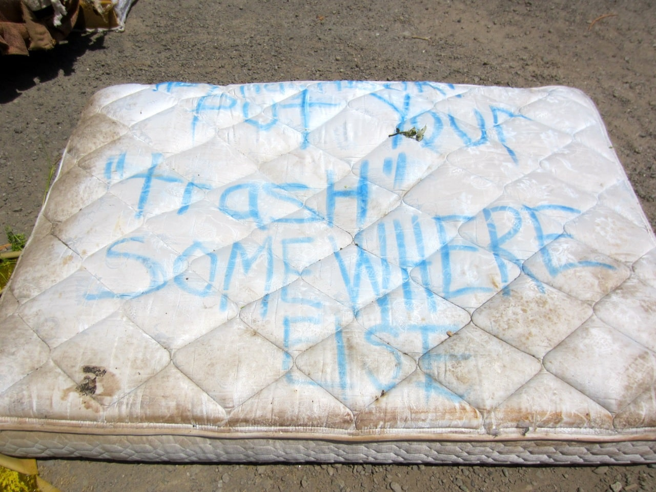 How to get rid of a mattress