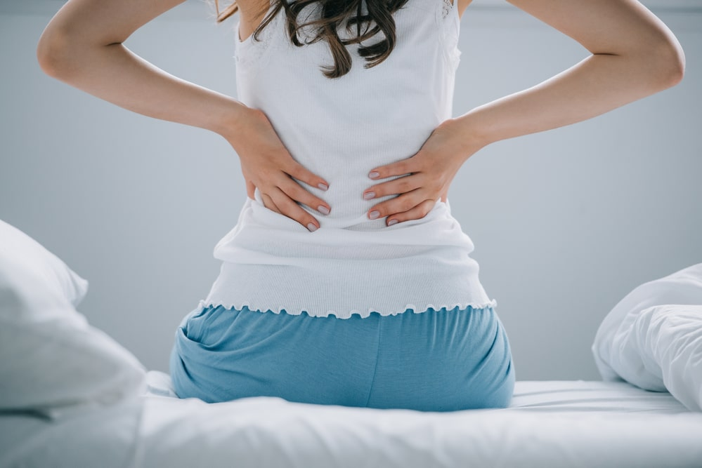 Back pain in the morning
