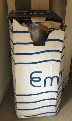 Emma Original delivery in a box