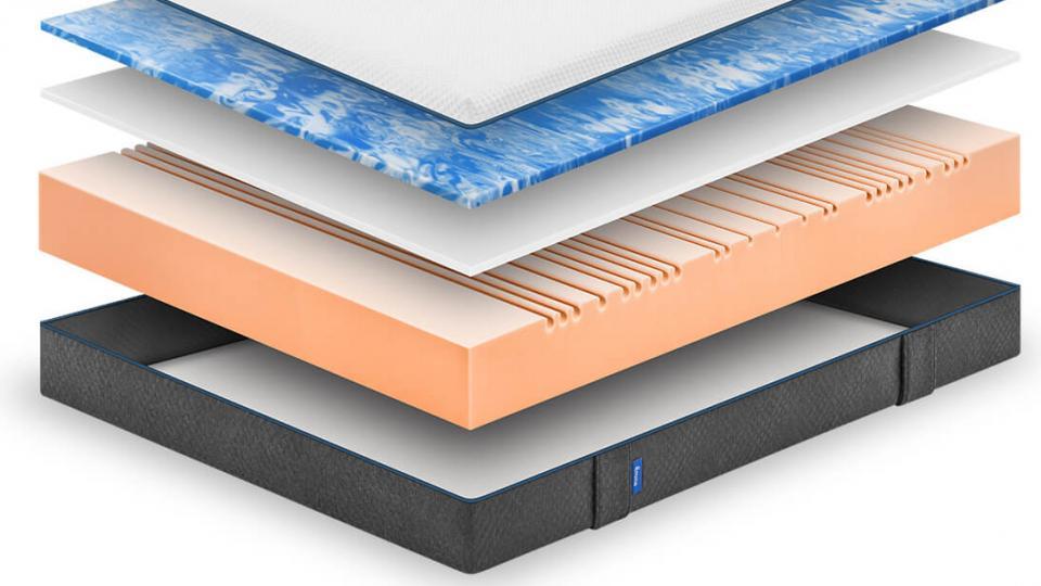 Emma mattress layers