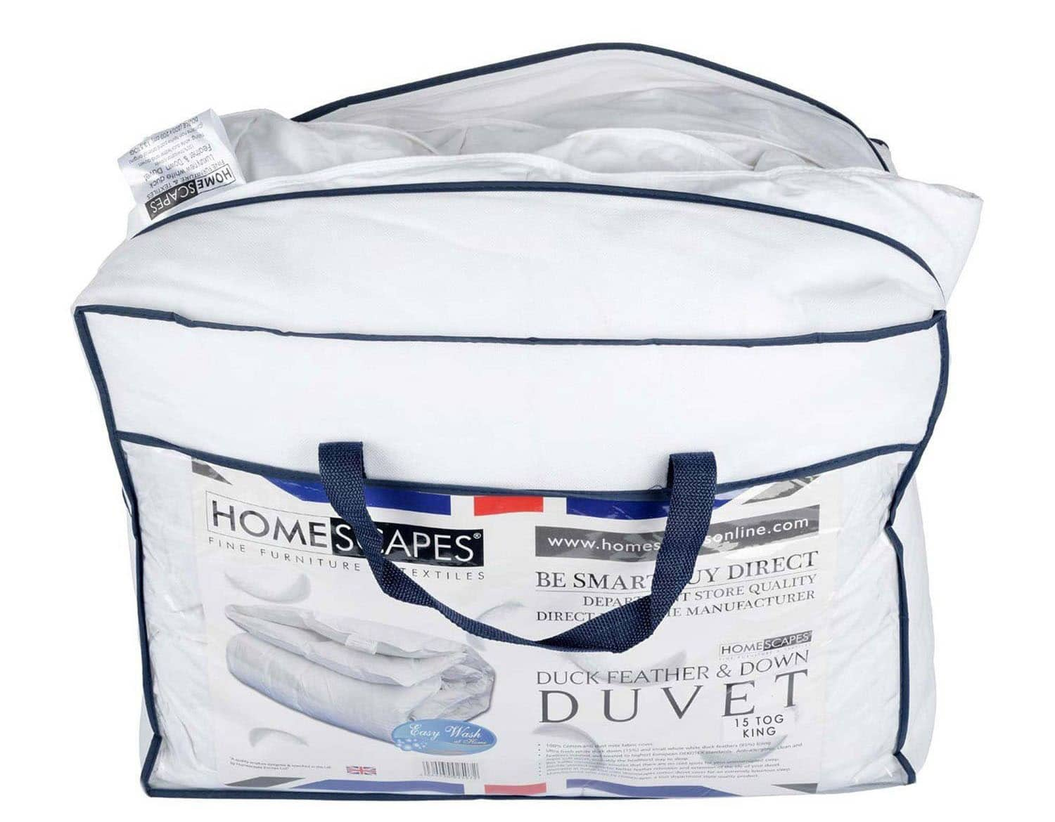 Homescapes Deluxe Washable Wool Duvet - All Season