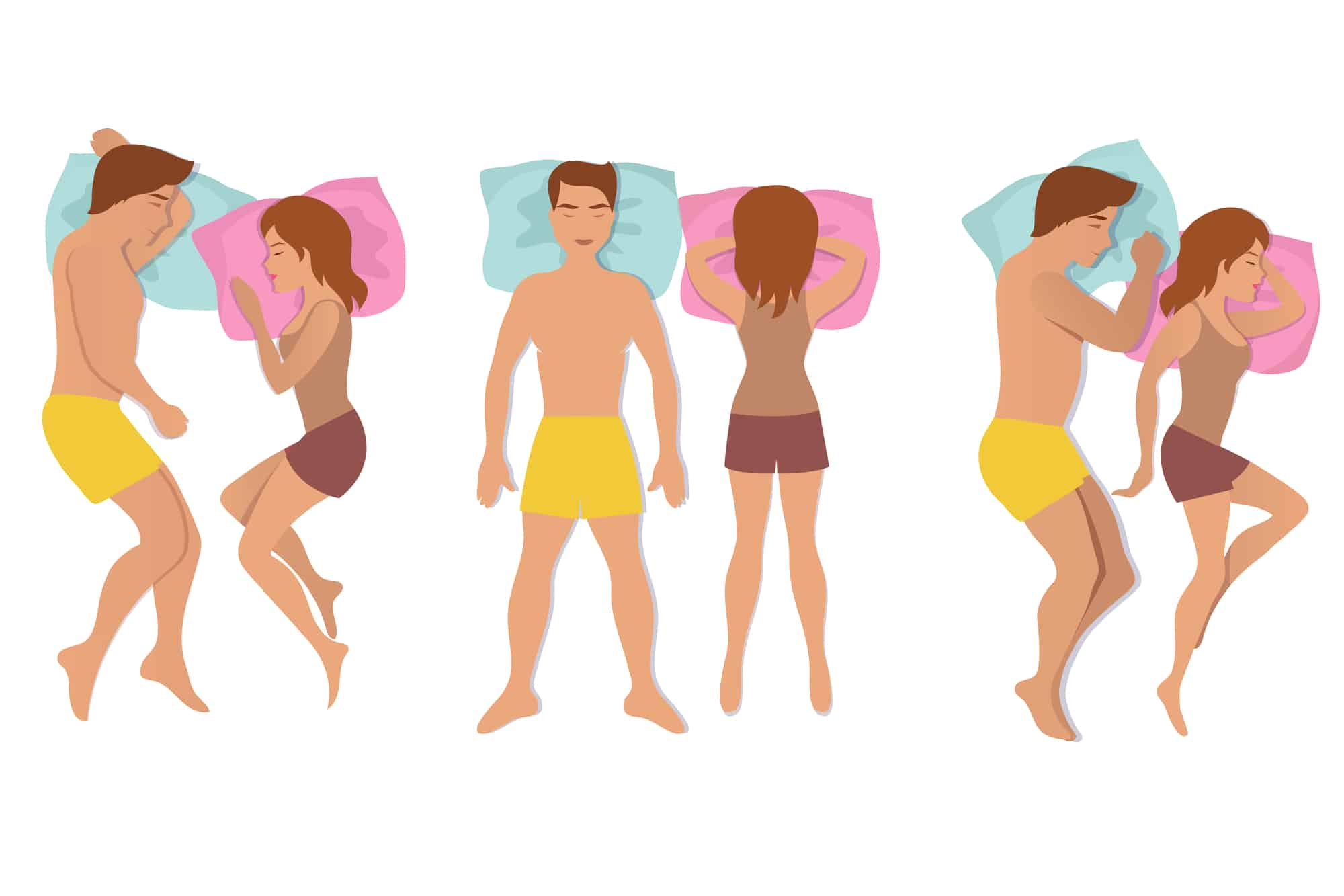 Mattresses for different sleep positions