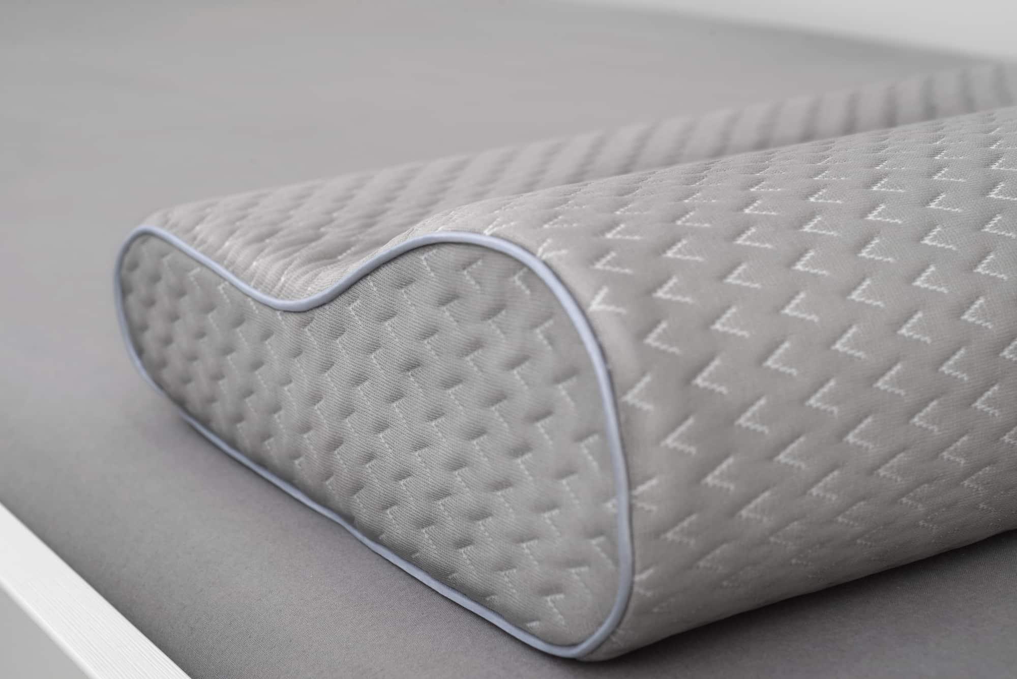 grey orthopedic pillow